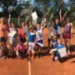 Afsluiting 8 Lessen 'maak Kennis Met Tennis'.