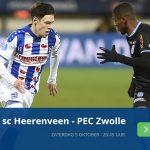Sc Heerenveen – PEC Zwolle