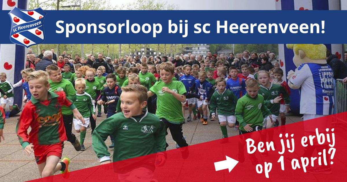 Start Actie Sponsorloop Sv Langezwaag